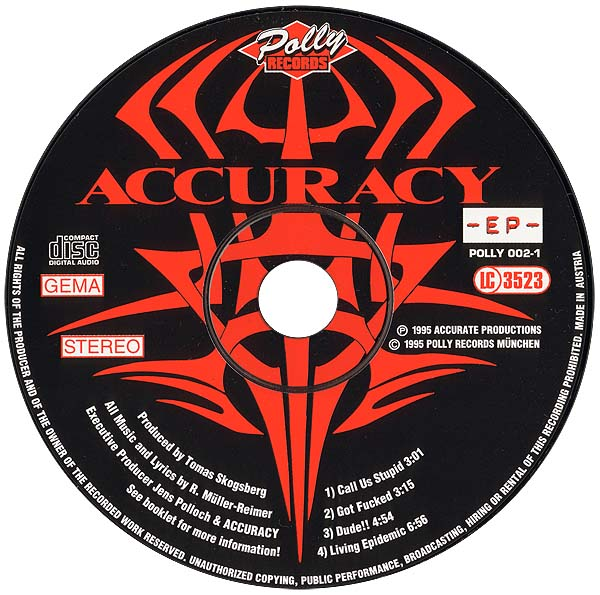 CD ACCURACY - EP -