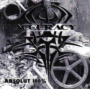 ACCURACY - Absolut 100% - CD-Cover